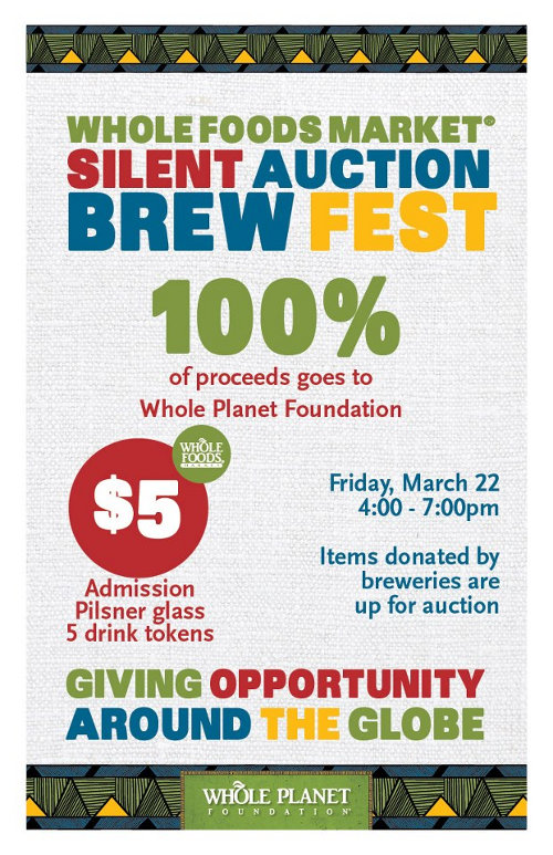 Whole Foods Silent Auction Brewfest