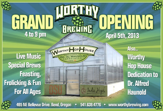 Worthy Brewing Grand Opening