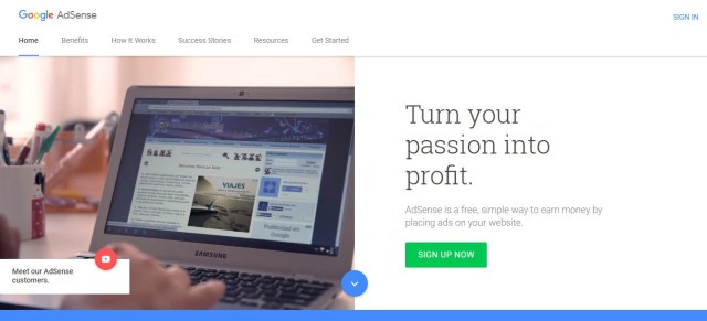 Earn money from website by Google adsense