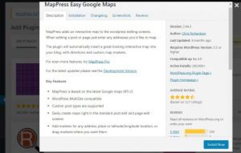 add google map to wordpress