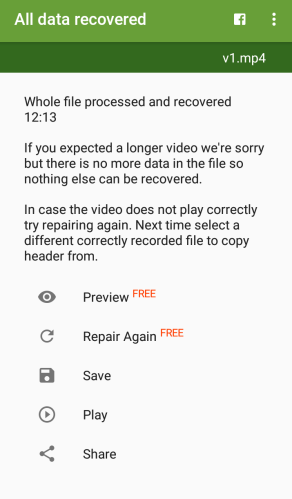 fix can't play this video
