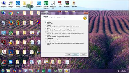 Recovering Deleted Files Using Recuva