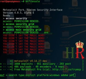 How To Hack Any PC Remotely Using PDF Through Metasploit In Kali Linux ?