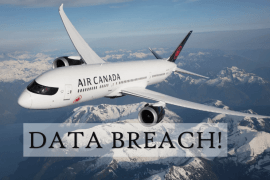 Air Canada Data Breach