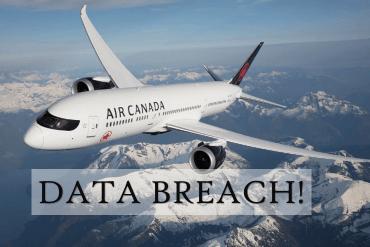 Air Canada Data Breach