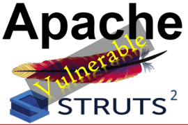 Apache Struts 2 Vulnerable