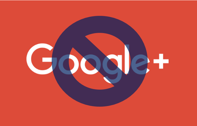 Google Plus Shutting down