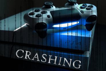 Playstation PS4 Crashing