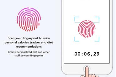 iOS Fingerprint Scan