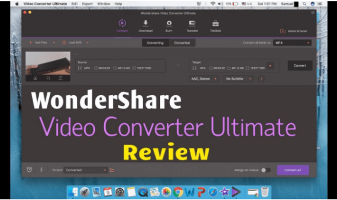 Wondershare Video Converter Review