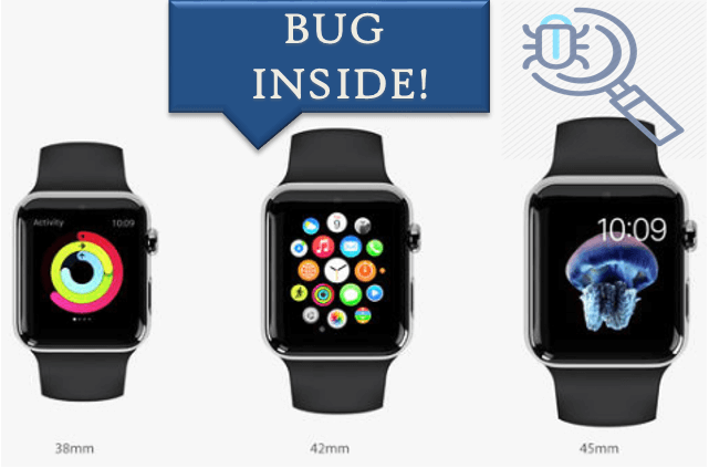 Apple Watch Walkie-Talkie Bug