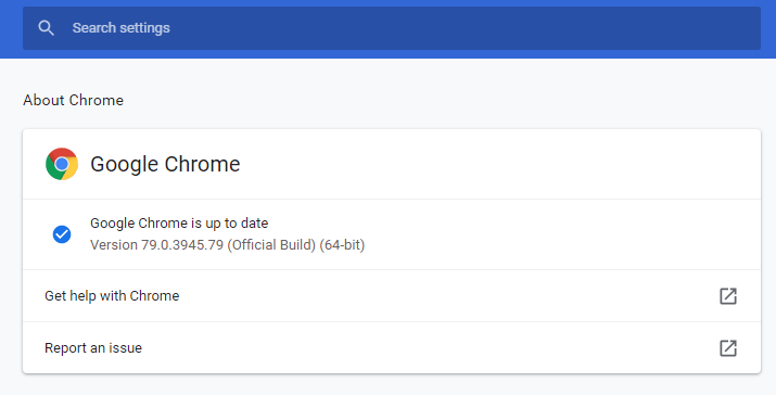 Chrome 79