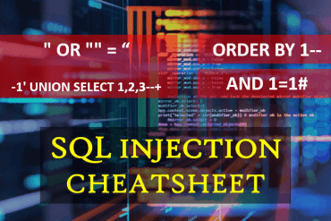SQL Injection Cheatsheet