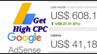 Adsense CPC Prices
