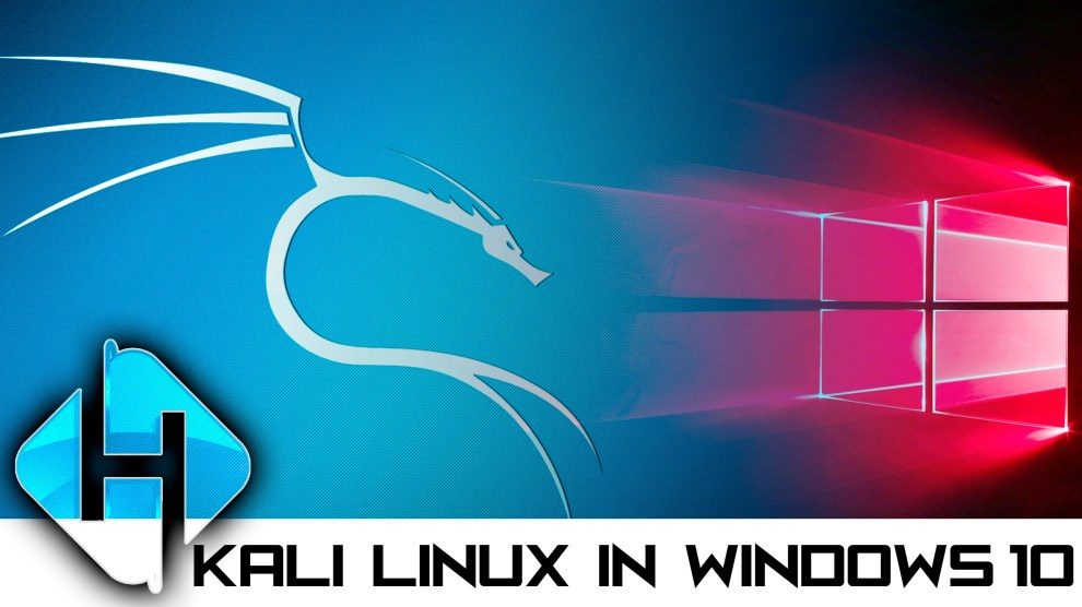 Kali Linux 2018 On Windows 10 Official