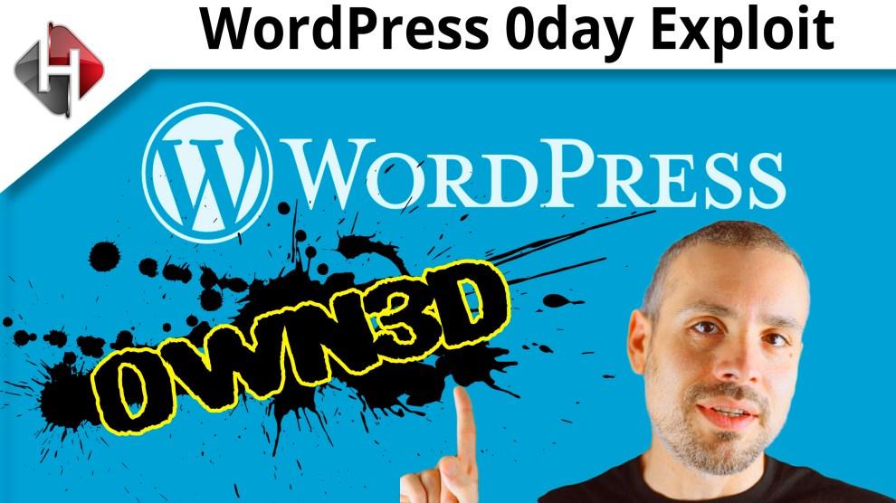 wordpress 0day