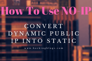 Convert Dynamic Public IP Into Static