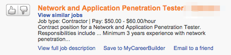 Network and application penetration tester