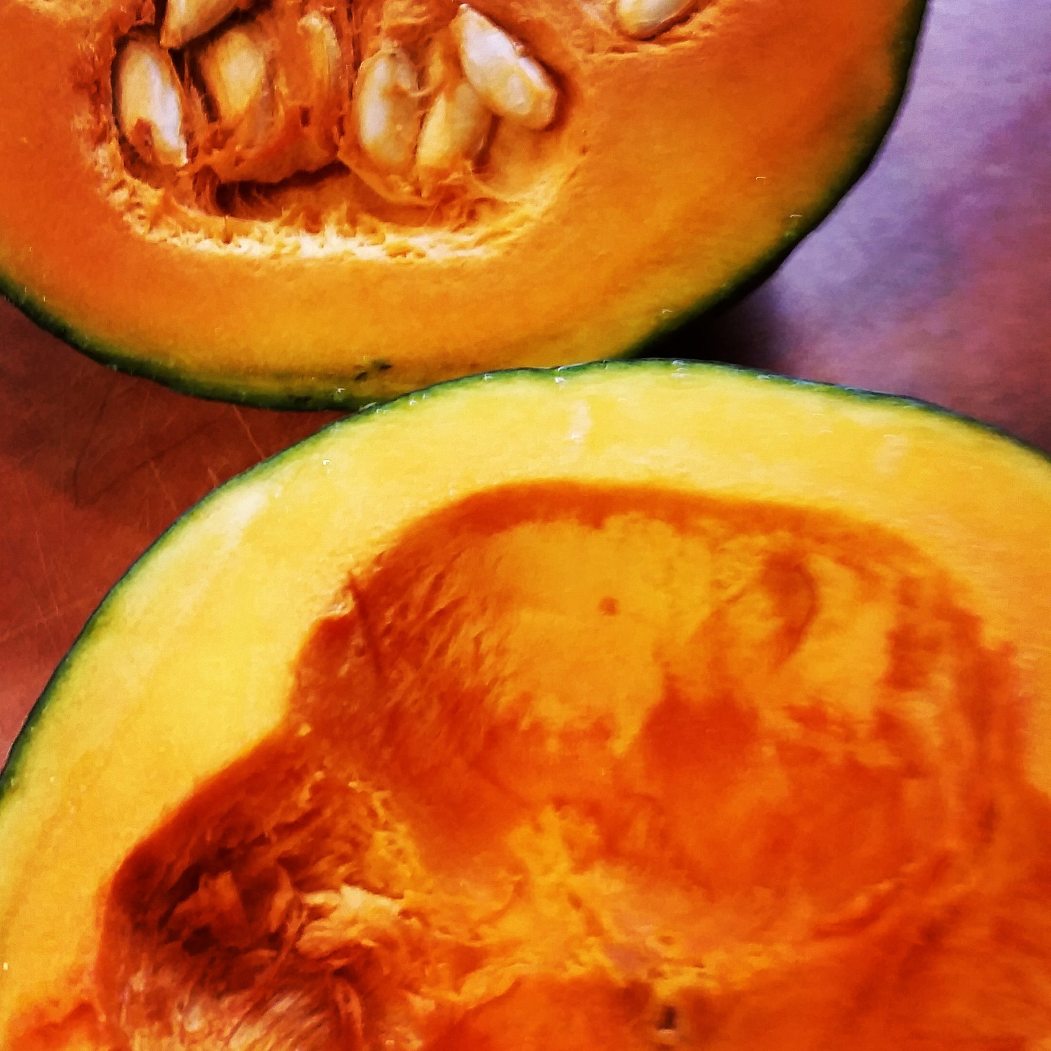 Low Sodium Buttercup Squash Soup With Smoked Almond Butter