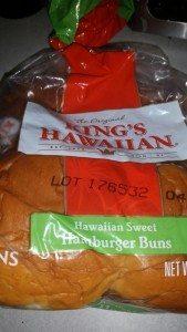 Original King's Hawaiian Hamburger Buns - A Good Low Sodium Choice
