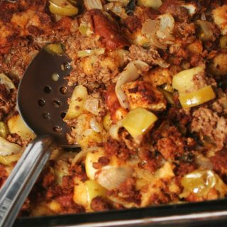 Low Sodium Chorizo Green Apple Stuffing
