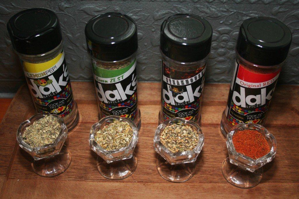Dak's Salt Free Spice Blends