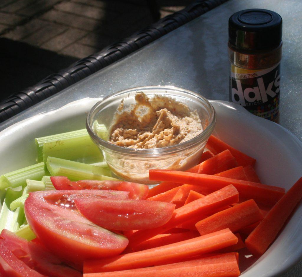 Low Sodium Hummus - Asian Style