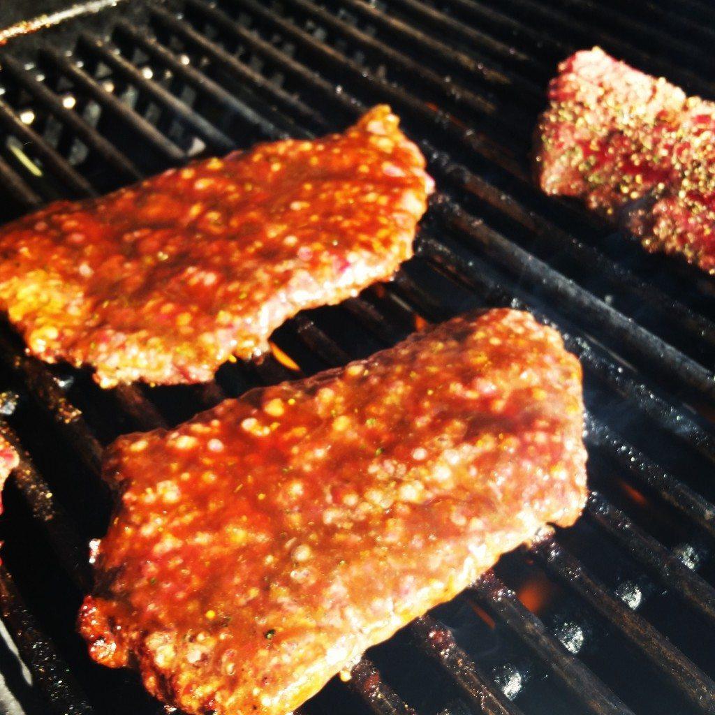 Low Sodium Hoisin Sauce on Steak