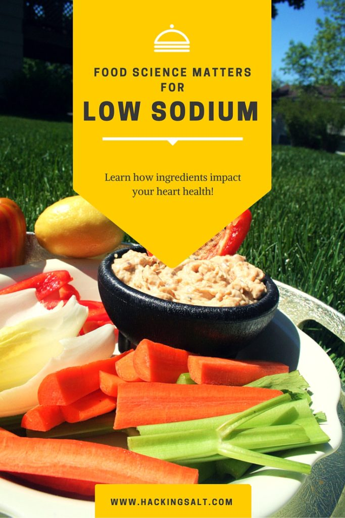 Food Science Matters for Low Sodium