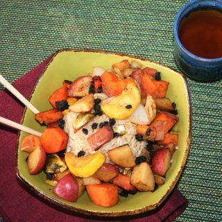 Low Sodium Maple Chipotle Harvest Vegetable Power Bowl