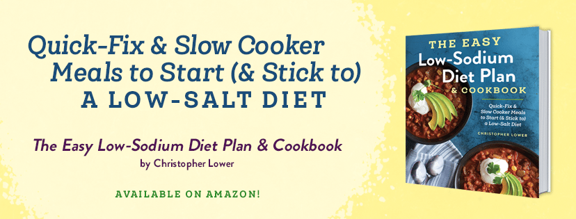 The Easy Low Sodium Diet Plan and Cookbook by Christopher Lower
