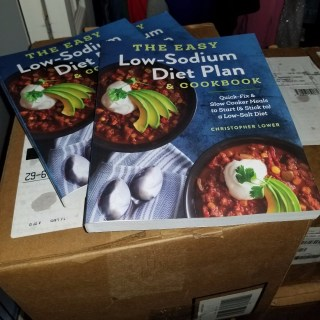 My Low Sodium Diet Plan and Cookbook Has Arrived