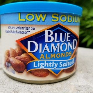 Low Sodium Snack – Blue Diamond Lightly Salted Almonds