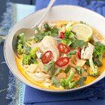 Low Sodium Thai Chicken Broccoli Soup