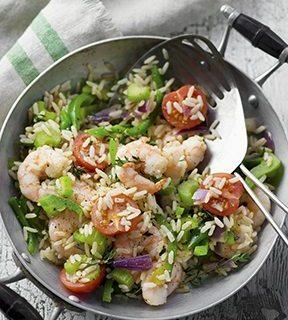 Low Sodium Shrimp Jambalaya