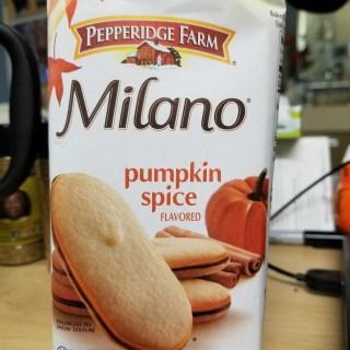Pumpkin Spice Milano Cookies - Low Sodium Pumpkin Spice Treats