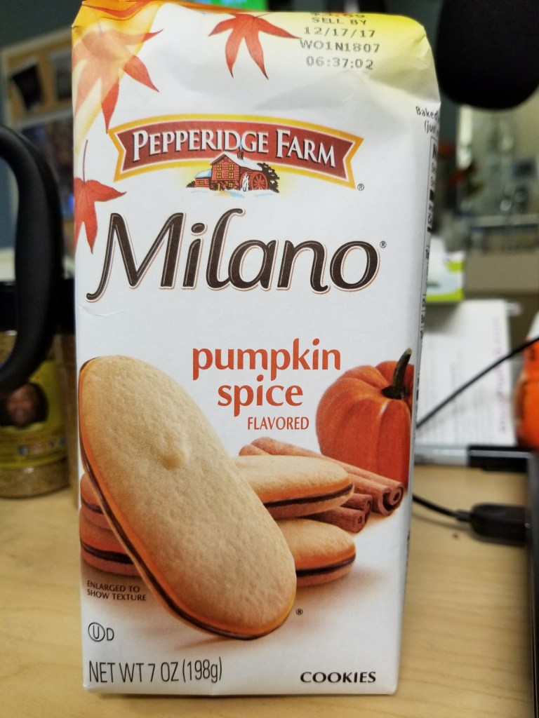 Pumpkin Spice Milano Cookies - Low Sodium Pumpkin Spice Treats