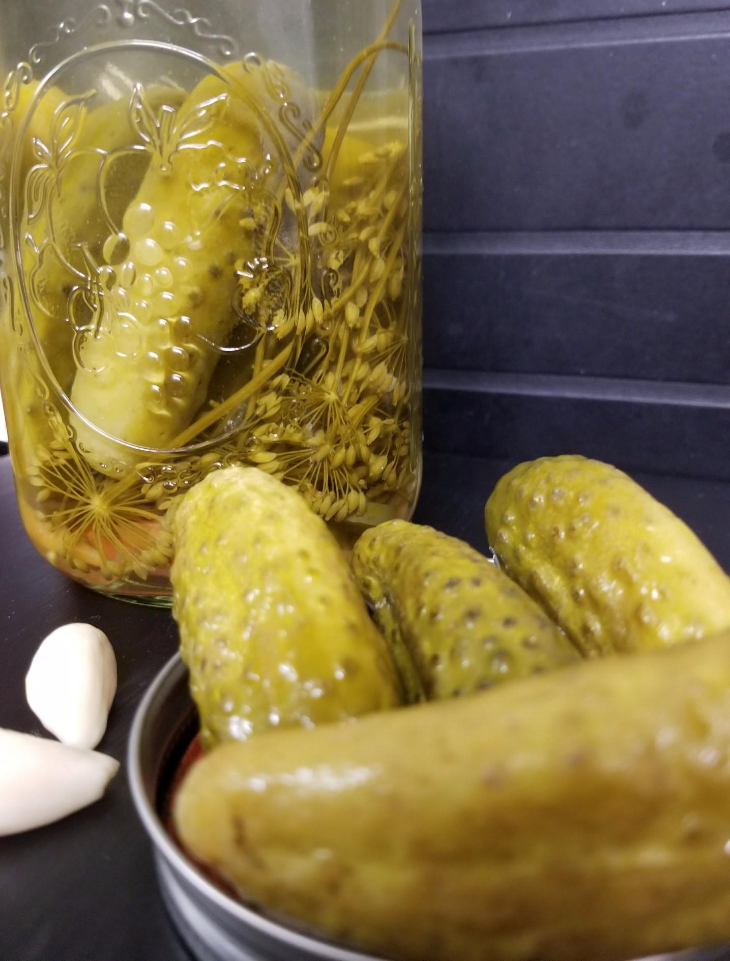 Making Salt Free Sweet Heat Pickles