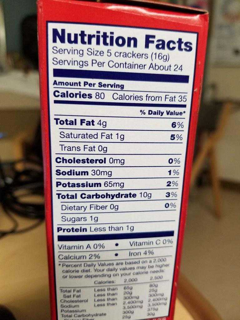 Hint of Salt Ritz Crackers - Great Low Sodium Crackers