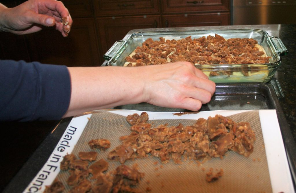 Low Sodium Sweet Potato Casserole With Pecan Praline Topping