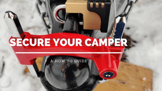 Secure Your Camper