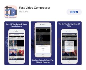 How to Compress a Video on iPhone with Fast Video Compressor