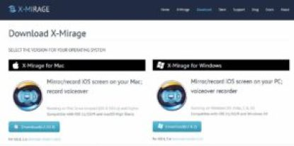 How to mirror iPhone to Mac free with x mirage