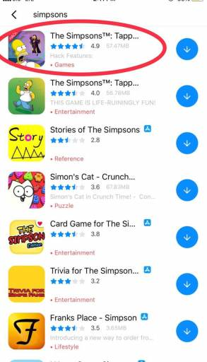 How to Hack The Simpsons Tapped Out on iOS