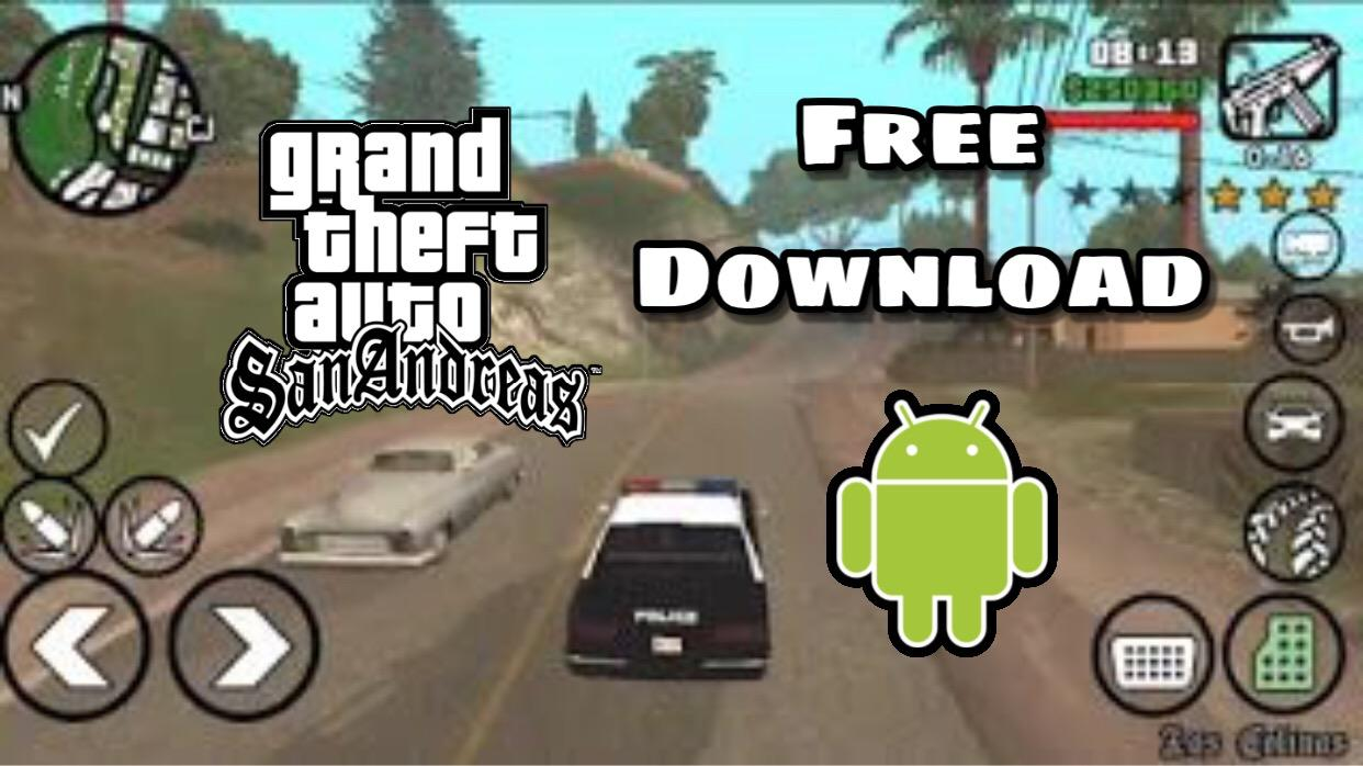 How to download GTA Sanandreas on Android Free