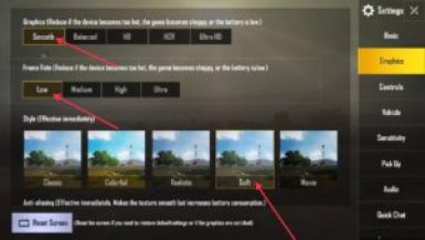 Change the PUBG Mobile Settings on PC