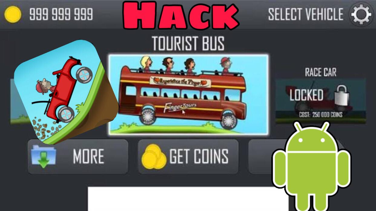 How to hack hill climb racing android