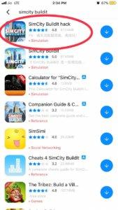 Simcity Buildit Hack iOS