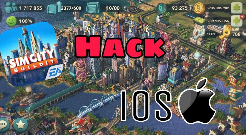 How to hack simcity buildit iOS