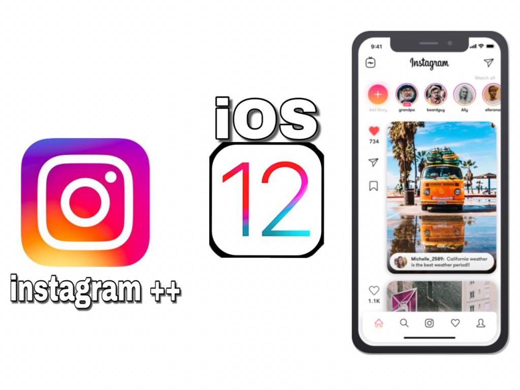 Instagram ++ iOS 12 free download